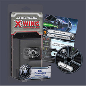 X-Wing - Miniatures Game : Chasseur TIE Advanced