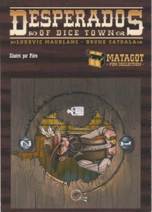 """Desperados of Dice Town - Carte promotionnelle """"Les Pouvoirs de Mister Phal"""""""