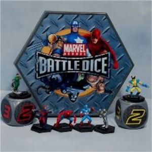 Battle Dice Marvel Heroes - Starter