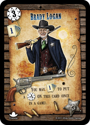 Revolver: Brady Logan (Personnage Promotionnel)