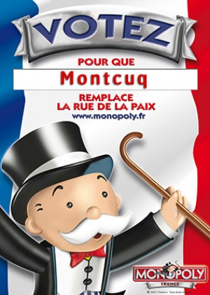 Monopoly France, votez
