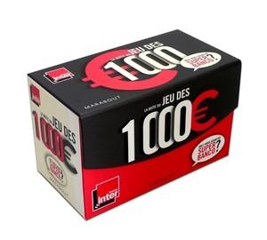 La boite du jeu des 1000 euro