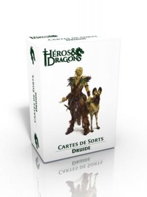 Héros & Dragons - Cartes de sorts - Druide