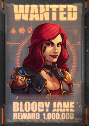 Titanium Wars - Bloody Jane