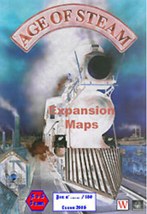 Age of Steam : Expansion Maps