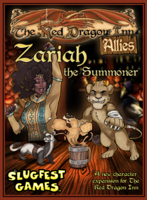 The Red Dragon Inn - Allies - Zariah the Summoner