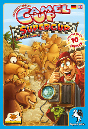 Camel Up : Supercup (Allemand - Anglais)