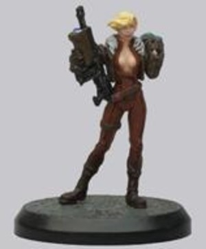 AT-43 - Hero Box : Red Blok - Sergeant Anastasiya Tymofiyeva