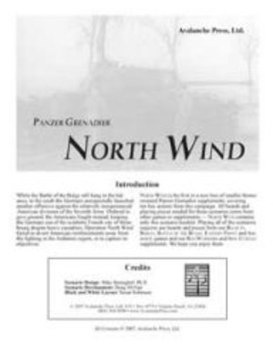 Panzer Grenadier : North Wind