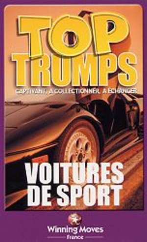 Top Trumps Voitures de sport