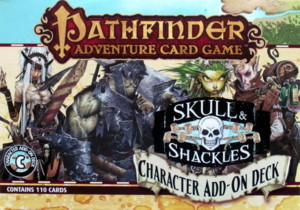 Pathfinder - Skull & Shackles LCG : Character Add-on Deck