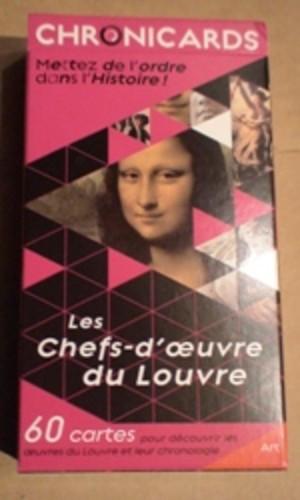 Chronicards : Les Chefs-d'oeuvre du Louvre