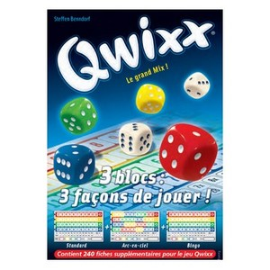Qwixx - Bloc de Score de Recharge
