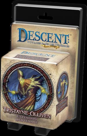 Descent : Voyages dans les Ténèbres - Pack Lieutenant Trystaine Olliven