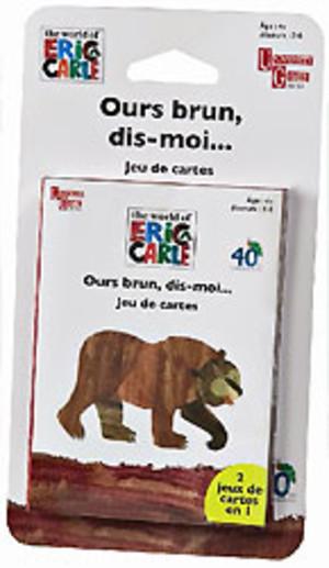 Ours brun, dis moi - Jeu de cartes