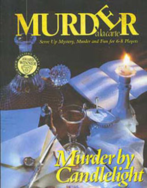 Murder à la carte : Murder by candlelight