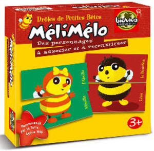 Meli Melo Drôles de Petites Bêtes