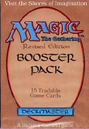 Magic the Gathering : Revised Edition