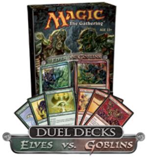 Magic the Gathering - Elves vs. Goblins