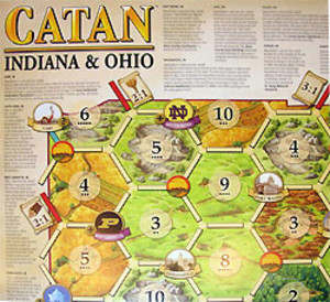 The Settlers of Catan : Indiana & Ohio