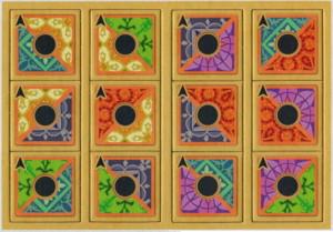 """Maharani - Extension """"Tuiles 'Mosaïque' bicolores, marquées d'une colonne centrale"""""""
