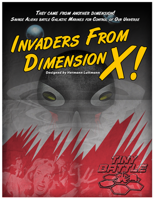 Invaders from Dimension X !