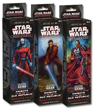 Star Wars Miniatures - Knights of the old Republic