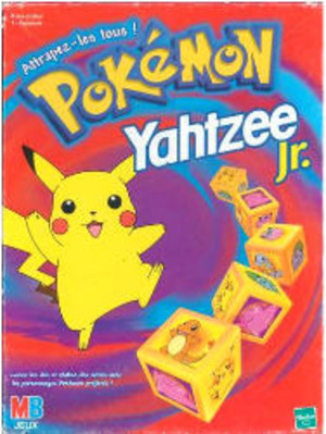 Yahtzee jr. - Pokémon