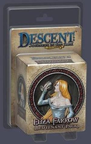 Descent : Voyages dans les Ténèbres ! - Pack Lieutenant Lady Eliza Farrow