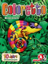 Coloretto : 10 Jahre Jubiläumsausgabe