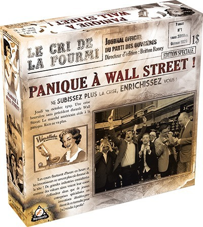 Asmodee et un concours Panique à Wall Street