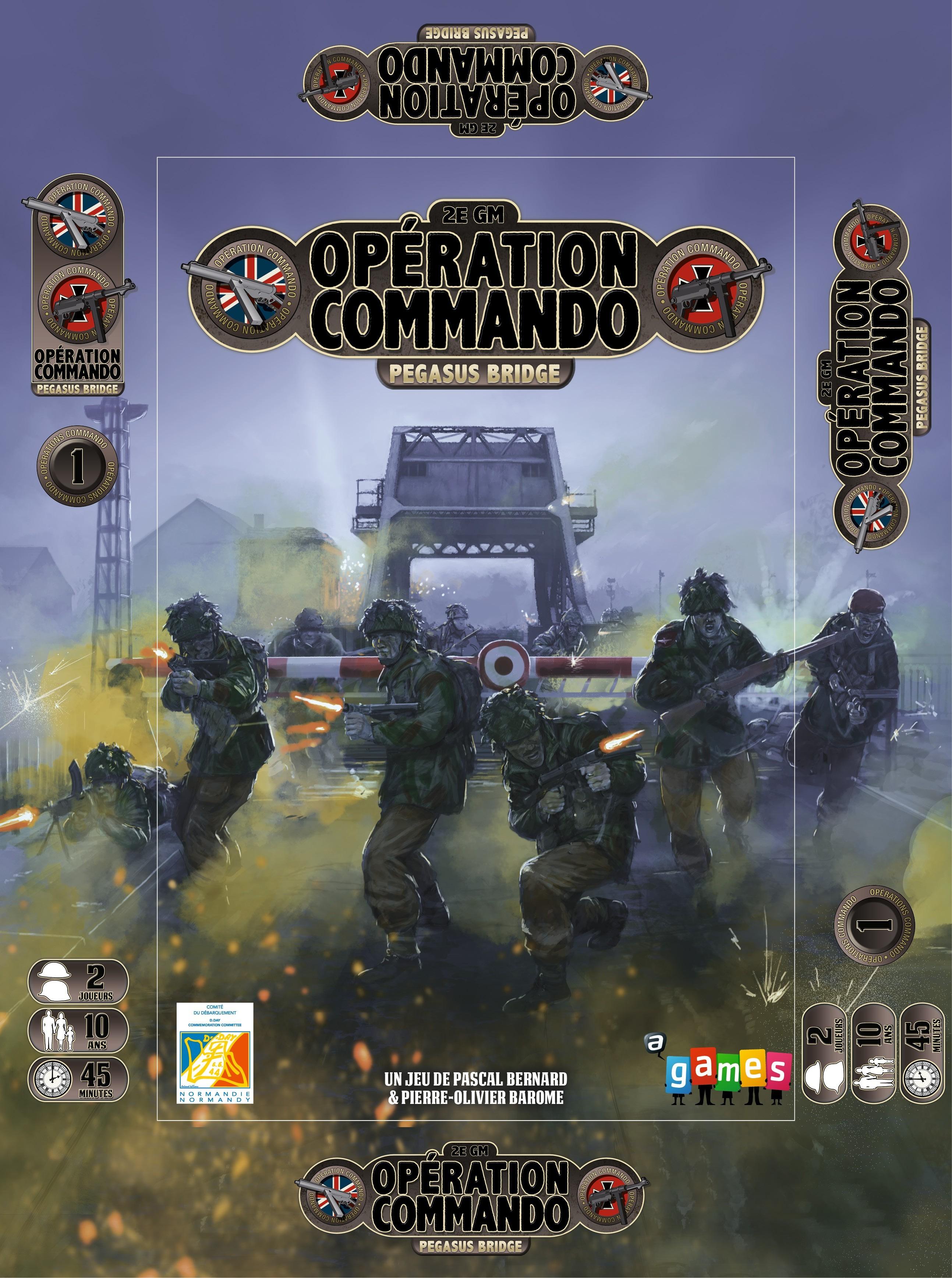 OPERATION COMMANDO, SUR LES ETALS!…TRÉS bientôt...