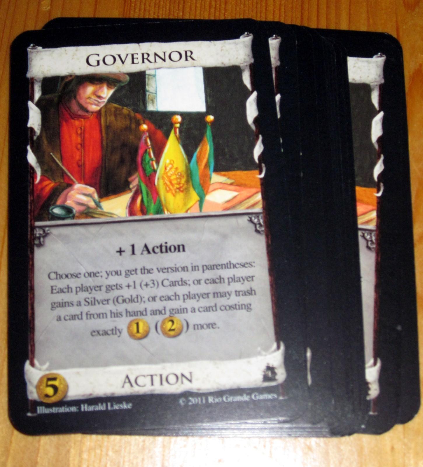 Dominion : Gouverneur