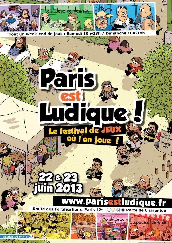 Paris Est Ludique 2013 !