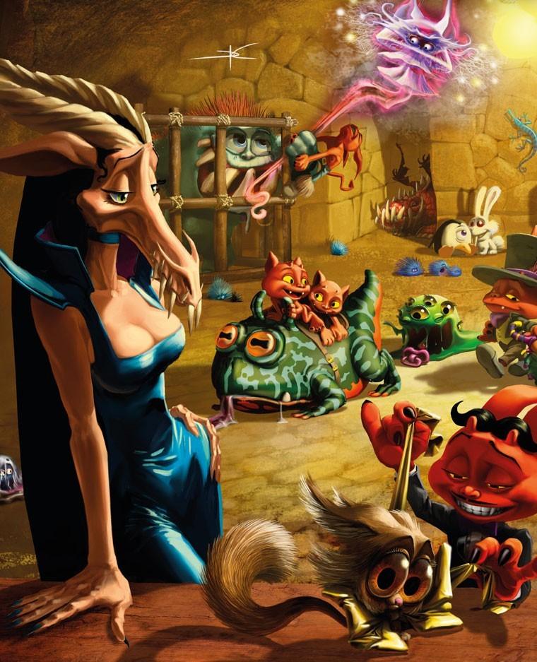 Dungeon Petz : Marché noir, encore plus pour mes kikis