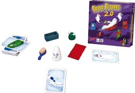 BAZAR BIZARRE 2.0 : box + matos
