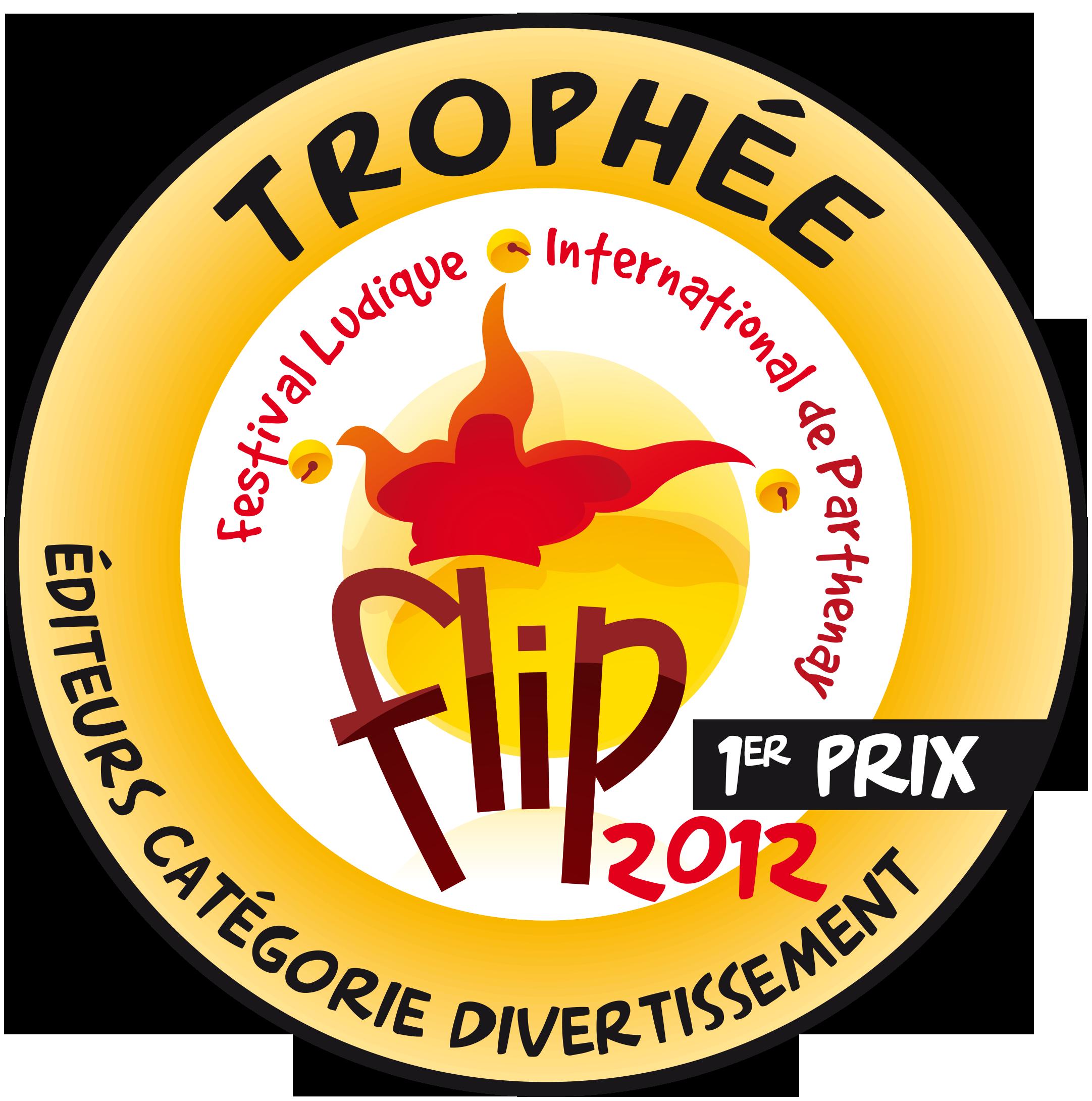 Trophée FLIP Editeur Divertissement