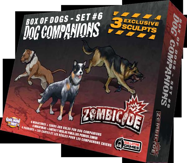 Zombicide : Dog Companions
