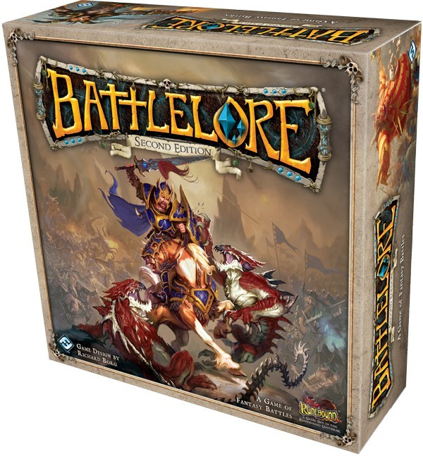BattleLore Second Edition: la boite 3D