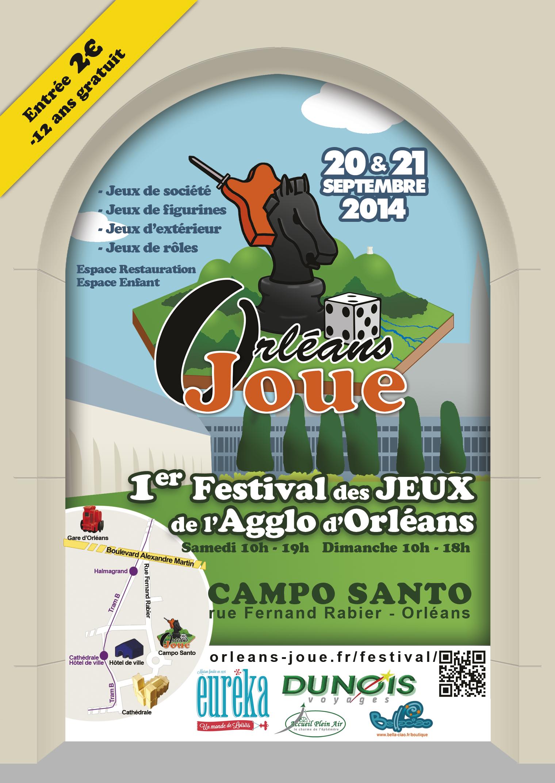 ORLEANS JOUE - 20 et 21 Septembre 2014
