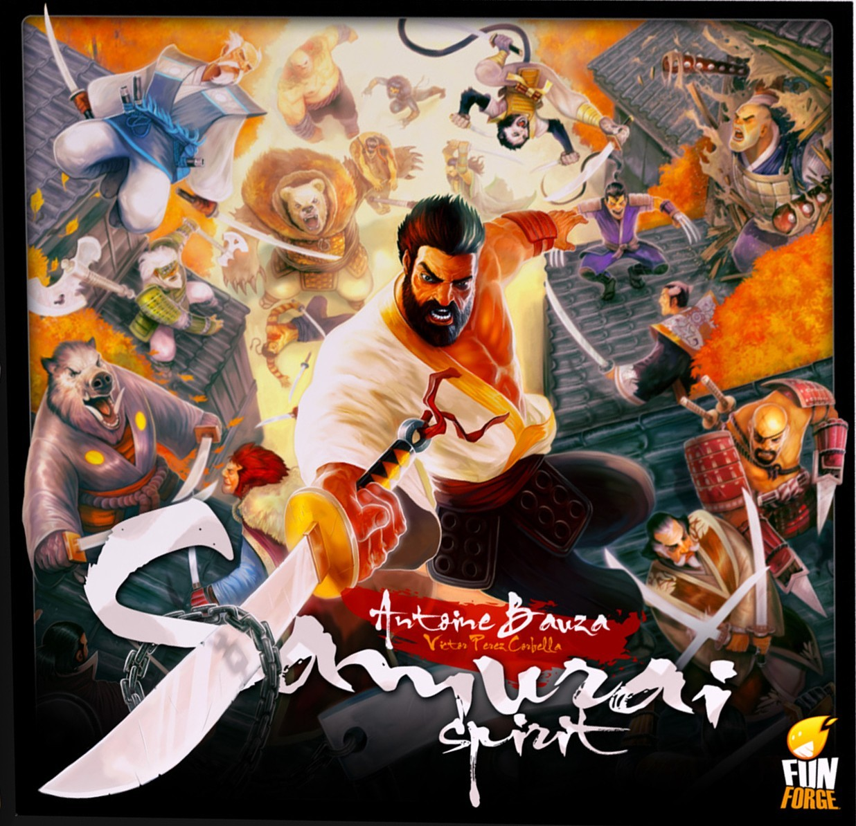 Samuraï Spirit, l'esprit d'Antoine Bauza