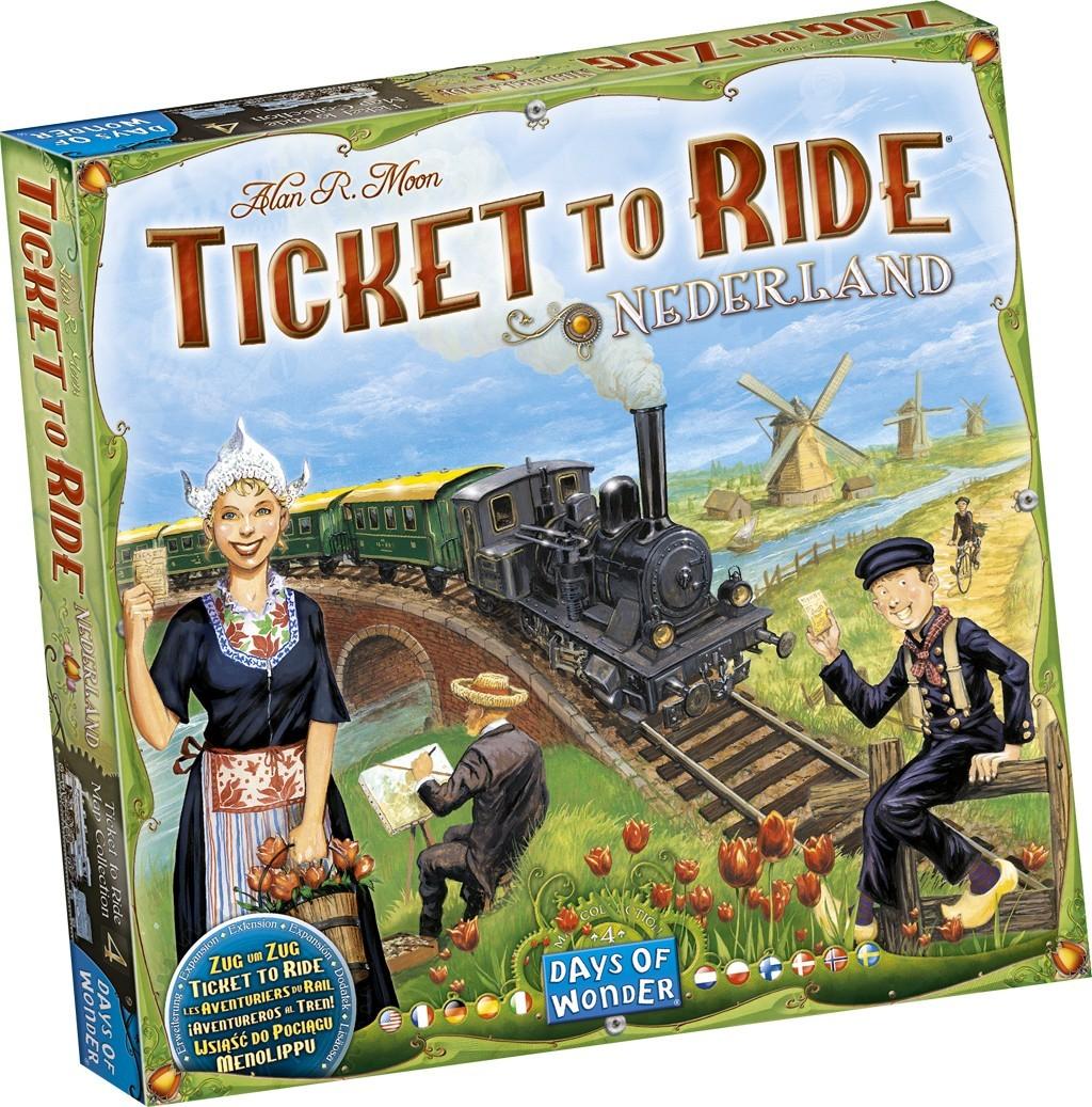 Les Aventuriers du Rail - Pays-Bas