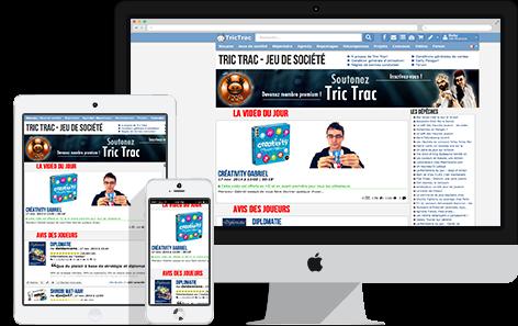 Tric Trac sur desktop et mobile